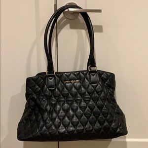 Leather Vera Bradley Tote